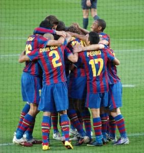 Celebración_FC_Barcelona_-_Real_Valladolid_CF