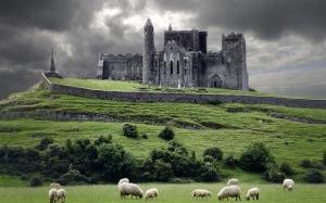 paisajes-hermosos-castillo-en-Irlanda