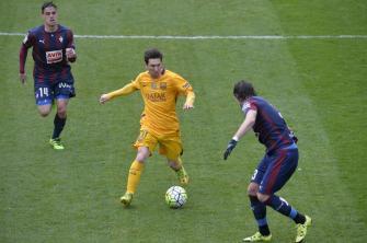 Football Soccer - Eibar v Barcelona - Spanish Liga BBVA