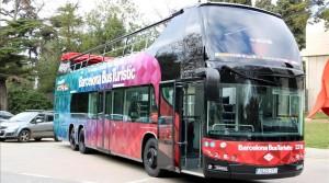 dilluns 09 gener 2017 12 05 Josep Ramon Torne Imatge del nou model del Barcelona Bus Turistic aquest dilluns 9 de gener pla general horitzontal
