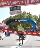 Resultado de imagen de guanyador de la 24ª mitja marato de montornes del valles