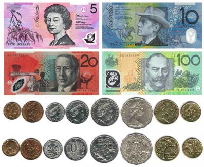 Resultado de imagen de monedas de australia